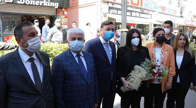 """AK Parti Genel Başkan Yardımcısı Sarıeroğlu: """"Huzurumuzu bozmaya yönelik girişimlere müsaade etmeyeceğiz"""""""