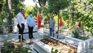 AK Partili Bekle'den Babalar Günü'nde anlamlı ziyaret