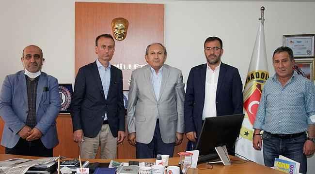Akgül ve Çintimar'dan DAGC'ye ziyaret