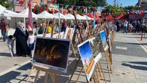 Aksaray'da AKMEK'li kadınlar hünerlerini sergiledi