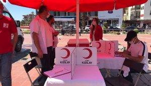 Aliağa'da AK Partili kadınlar kan bağışı etkinliği düzenledi