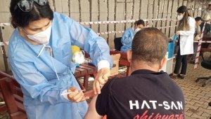 Altınova Tersanelerde işçiler aşılandı