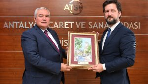 """ATSO Başkanı Çetin: """"Macaristan ile ekonomik ilişkilerimizi yukarı taşımalıyız """""""