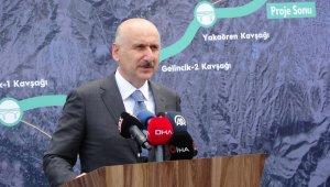 """Bakan Karaismailoğlu: """"Isparta-Burdur arası dostluk yoluyla 21 kilometreden 14 kilometreye inecek"""""""