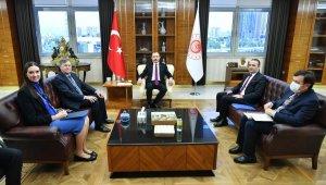Bakan Muş, ABD Büyükelçisi Satterfield ile görüştü