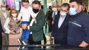 Bakan Pakdemirli, 3. Verimlilik ve Teknoloji Fuarı'nı ziyaret etti