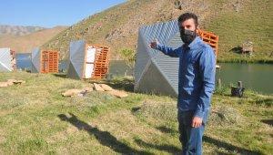 Baraj kenarına kurulan piknik çardaklarına yıkım kararı