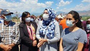 Başkan Çerçioğlu ve CHP'li vekiller çiftçileri dinledi