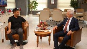 Başkan Günel'den Nilüfer'e ziyaret - Bursa Haberleri