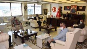 Başkan Vekili Manav'a meclis üyelerinden ziyaret