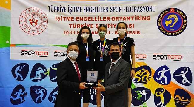 BAÜN, Türkiye İşitme Engelliler Şampiyonalarına ev sahipliği yaptı