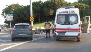 Bayrampaşa'da otomobille motosiklet çarpıştı: 1 ölü, 1 yaralı