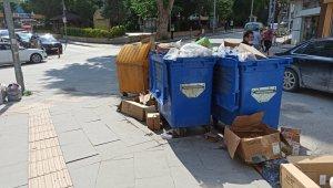 Bilecik'te 2 gündür toplanmayan çöpler bugün toplanacak