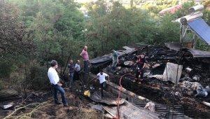 Bingöl'de çatı yangını, 1 kişi hastaneye kaldırıldı