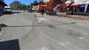Bisiklet çarpan yaşlı vatandaş ağır yaralandı