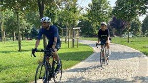 Bisiklet tutkunu Bandırma'dan Antalya'ya pedal çevirdi