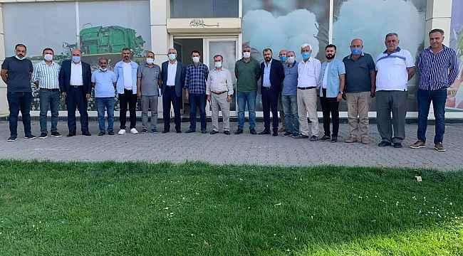Bismil çiftçileri sulama sorunları için bir araya geldi