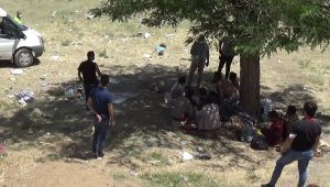Bitlis'te 70 düzensiz göçmen yakalandı