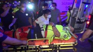 Bursa'da alkollü sürücü polis noktasına böyle daldı: 2'si polis 4 yaralı - Bursa Haberleri