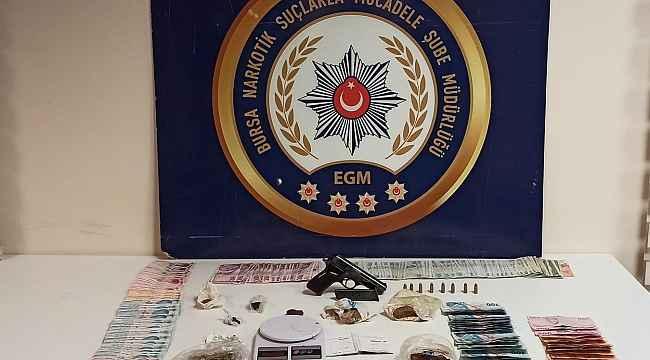 Bursa'da uyuşturucu operasyonundan tutuklanan 7 kişinin ardından 6 kişi daha gözaltına alındı - Bursa Haberleri