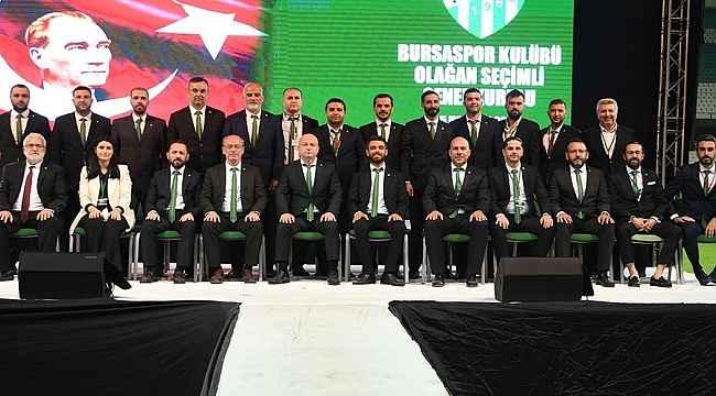 Bursaspor Kulübü'nde yeni yönetimin görev dağılımı yapıldı - Bursa Haberleri
