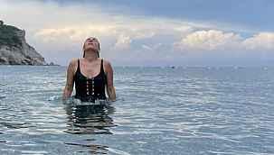 Buse Varol deniz sezonunu açtı