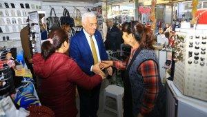 Büyükşehir'den esnafa 500 TL yardım paketi