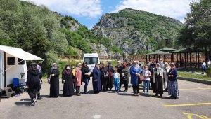 Cam teras ve kanyonları görmeyen kadınlara yönelik gezi düzenlendi