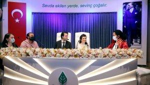 Çankaya Belediyesi bir ayda 600 çiftin nikahını kıydı