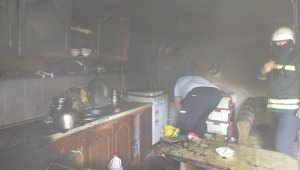 Çarşamba'da ev yangını