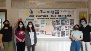 Çaycuma TSO Fen Lisesi e-Twinning projesi başarı ile sona erdi
