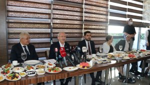"""CHP Genel Başkanı Kılıçdaroğlu Kılıçdaroğlu: """"HDP Genel Başkanı 'İttifak yapmayacağız' dedi"""""""