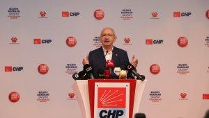 CHP Lideri Kılıçdaroğlu, CHP'li Belediyeler Çalıştayında konuştu