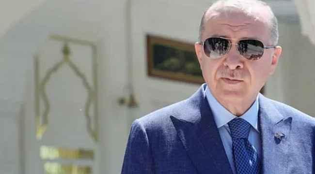 """Cumhurbaşkanı Erdoğan'dan Milli Takım'a """"Allah yardımcınız olsun evlatlarım"""""""