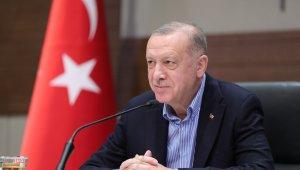 """Cumhurbaşkanı Erdoğan: """"Bütün derdimiz Amerika'dan amasız, fakatsız bir yaklaşım görmektir"""""""