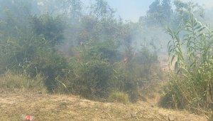 Dalaman'da cezaevi çevresi ve TİGEM arazilerinde yangın