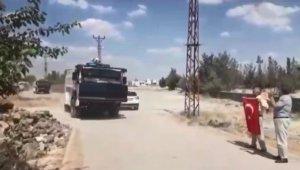 DEDAŞ ekipleri, mahalleye zırhlı araç ve TOMA'larla birlikte girdi