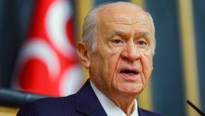 """Devlet Bahçeli: """"HDP, CHP ile İP'i çoktan kafeslemiş, üzerlerine de kilidi vurmuştur"""""""