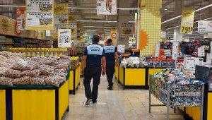 Diyarbakır'da zabıta ekipleri reyonlarda künye kontrolü yaptı