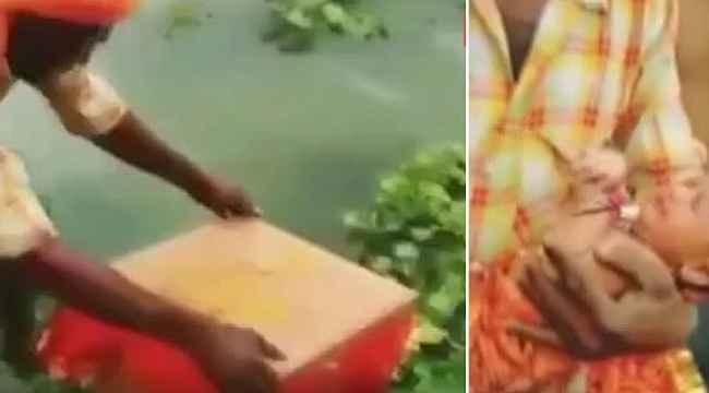 Doğar doğmaz nehre bırakılan bebek 22 gün sonra canlı bulundu