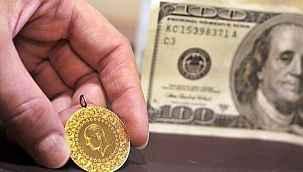 Dolar 8,32'ye, gram altın 507 liraya geriledi