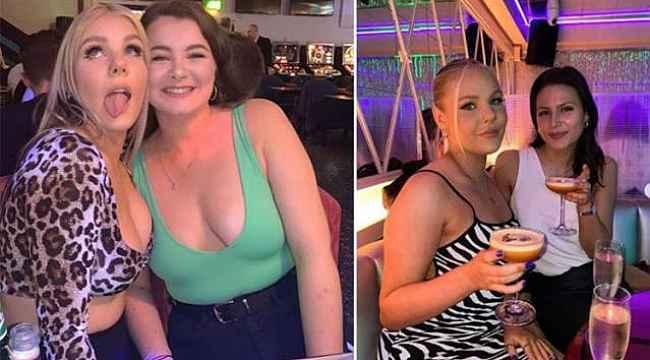 Eğlenmek için gittiği bara göğüs dekoltesi nedeniyle alınmayan kadın isyan etti