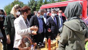 Elazığ'da Kız Kardeşim projesine start verildi, ürünler Türkiye ve dünya pazarında yer alacak
