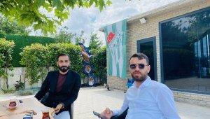 """Emrah Kılıç: """"Bursaspor için çalışmaya, üretmeye devam"""""""