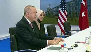 Erdoğan, çevirmenliğini yapan Kavakçı'nın kızıyla ilgili konuştu