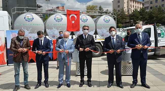"""Erzurum'da """"Süte Değer Projesi"""""""