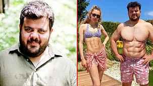 Eser Yenenler, photoshop yapıp kaslı karesini paylaşan eşine sitem etti