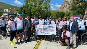 Frigya Bisiklet Festivali Afyonkarahisar'da başladı