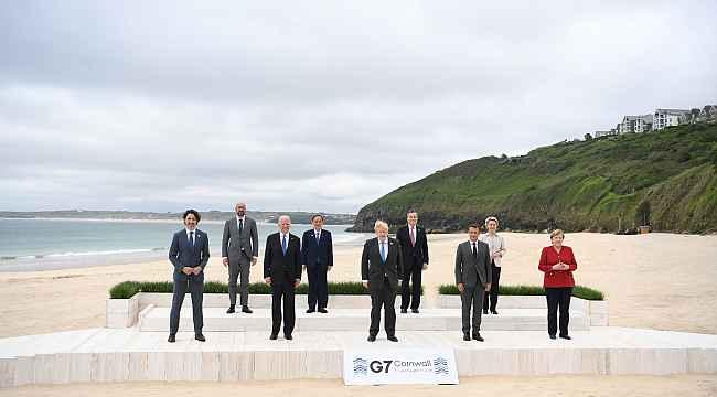 G7 Liderler Zirvesi'nin ilk toplantısı
