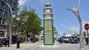 Giresun Belediyesi'nden saat kulesi eleştirilerine cevap geldi